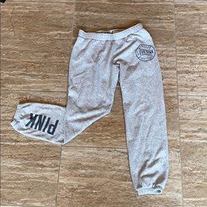 PINK sweatpants/joggers